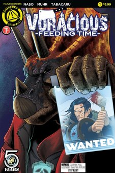 VORACIOUS: Feeding Time #1 CVR A (by series artist Jason Muhr!)